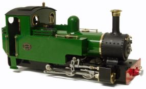 Roundhouse 'Lady Anne' live steam 16mm 0-6-0 locomotive.