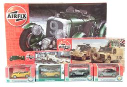 Airfix 1930 Bentley 1:12 scale kit and two others