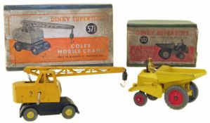 Two Dinky Supertoys