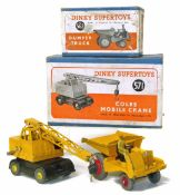 Two boxed Dinky Supertoys