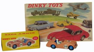 Dinky Toy No. 111 Triumph TR2 Sports pink boxed etc.