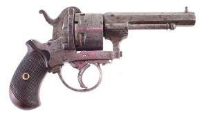 12mm 5 shot Guardian Pin fire revolver.