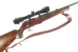 Anschutz Model 1415-16 .22lr bolt action rifle