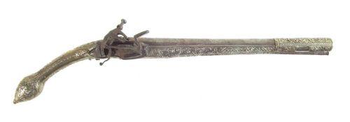 Persian Miquelet lock pistol