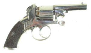 Webley Bentley percussion revolver