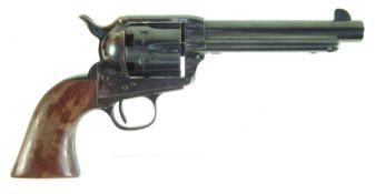 Uberti .44 cattleman black powder muzzle loading revolver, serial number U42296