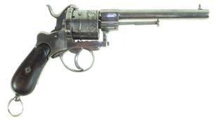 11mm pinfire revolver