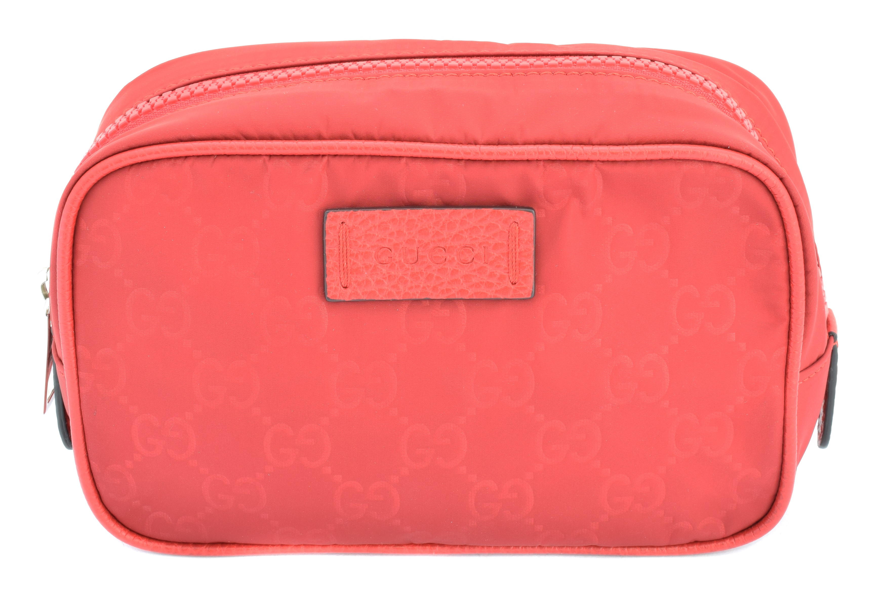 A Gucci cosmetic case pouch,