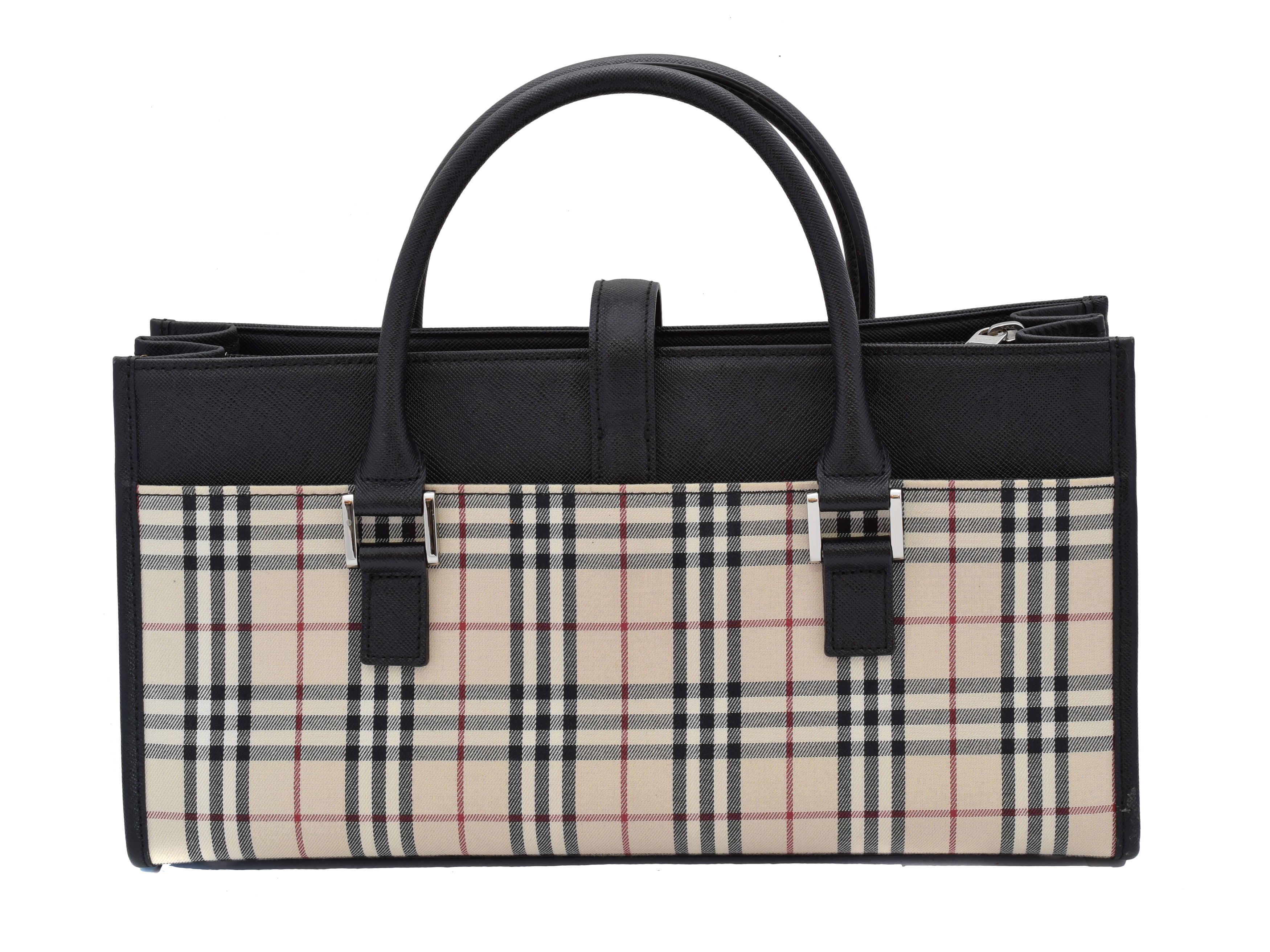 A Burberry Long Tote Shoulder Bag, - Image 2 of 2