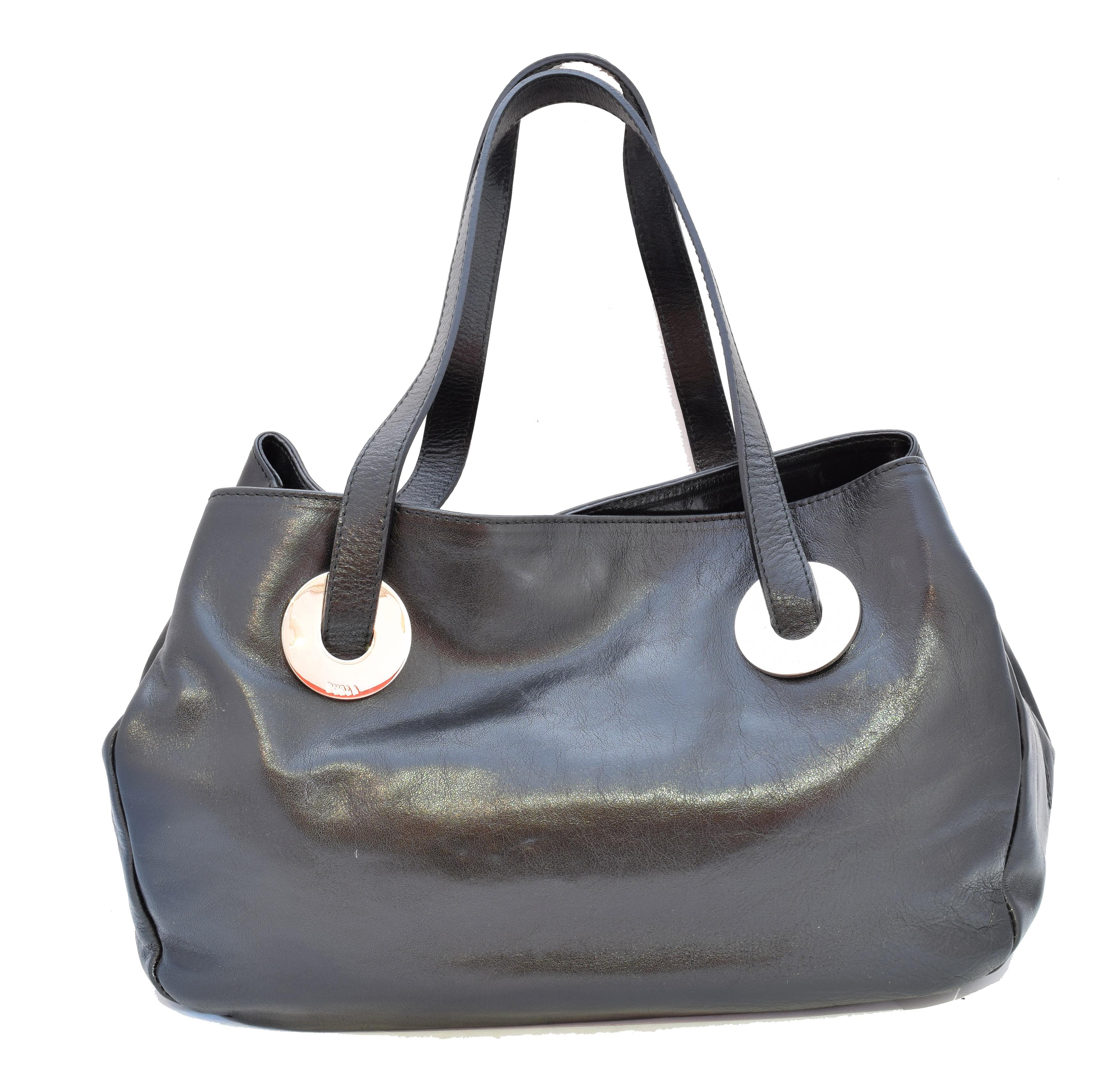 A Furla handbag,