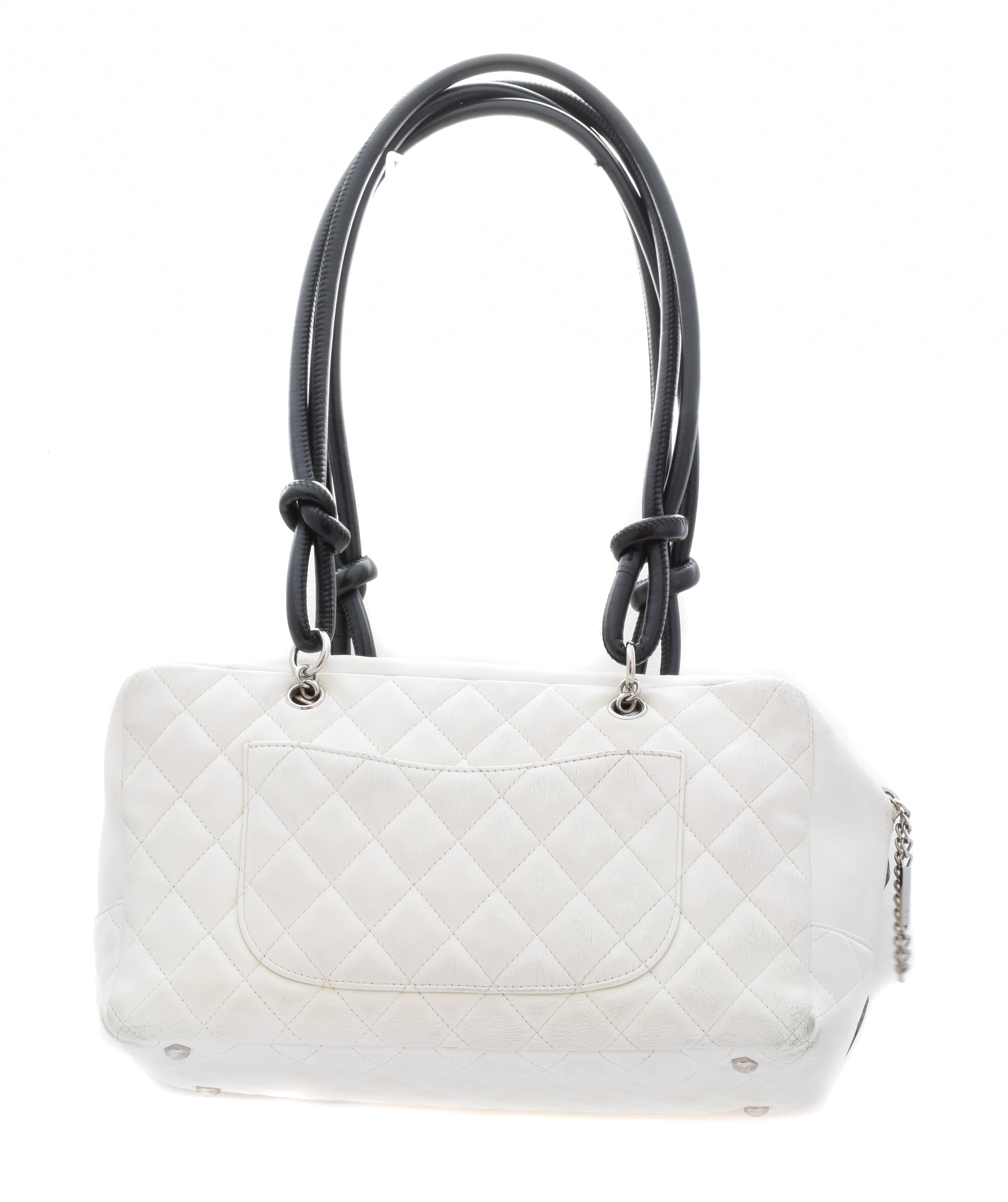 A Chanel Cambon Bowling Tote Shoulder Bag, - Image 2 of 2