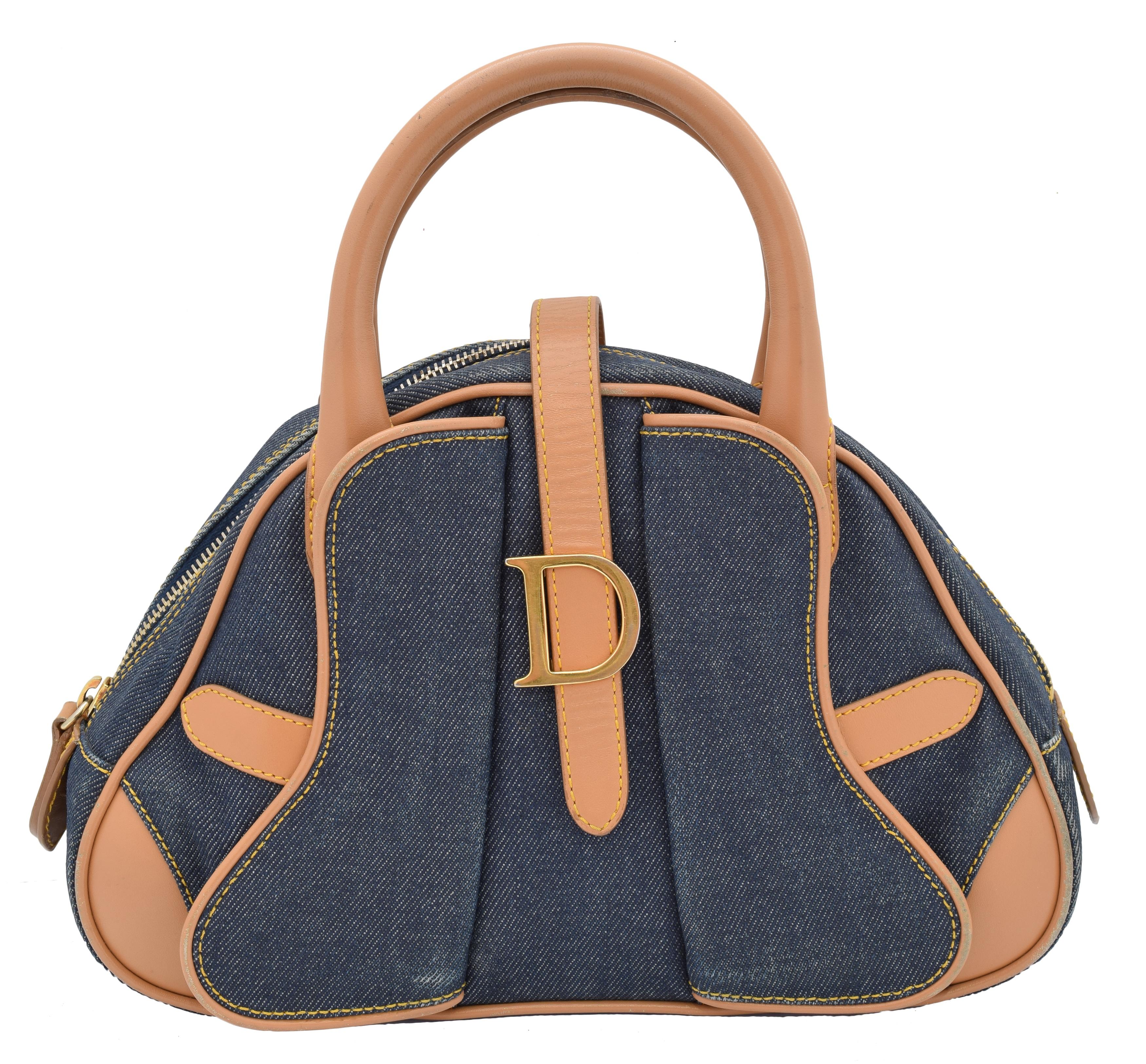 A Dior Double Saddle bag,