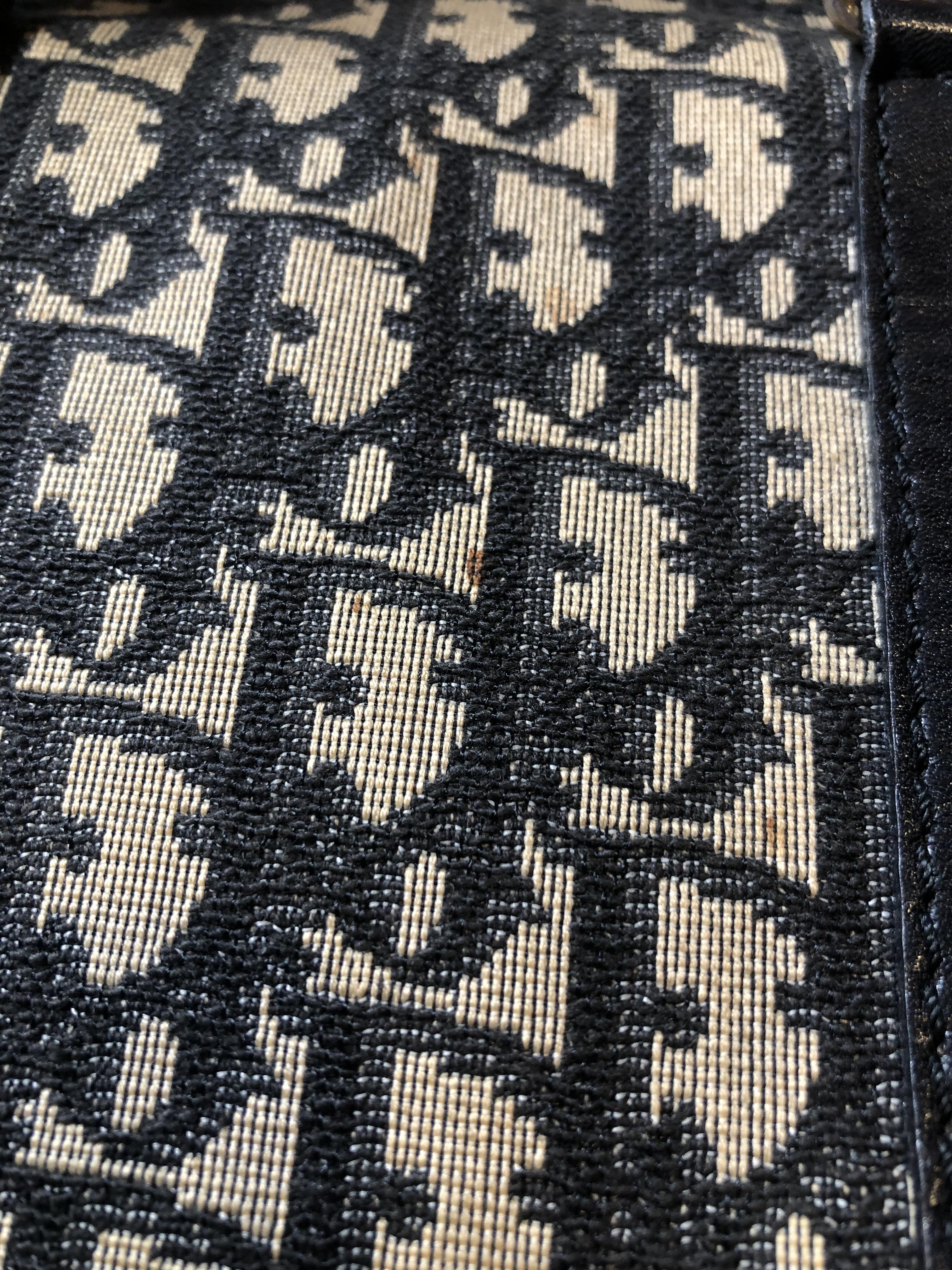 A Dior Vintage Small Boston Handbag, - Image 3 of 5