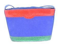 A Bally handbag,