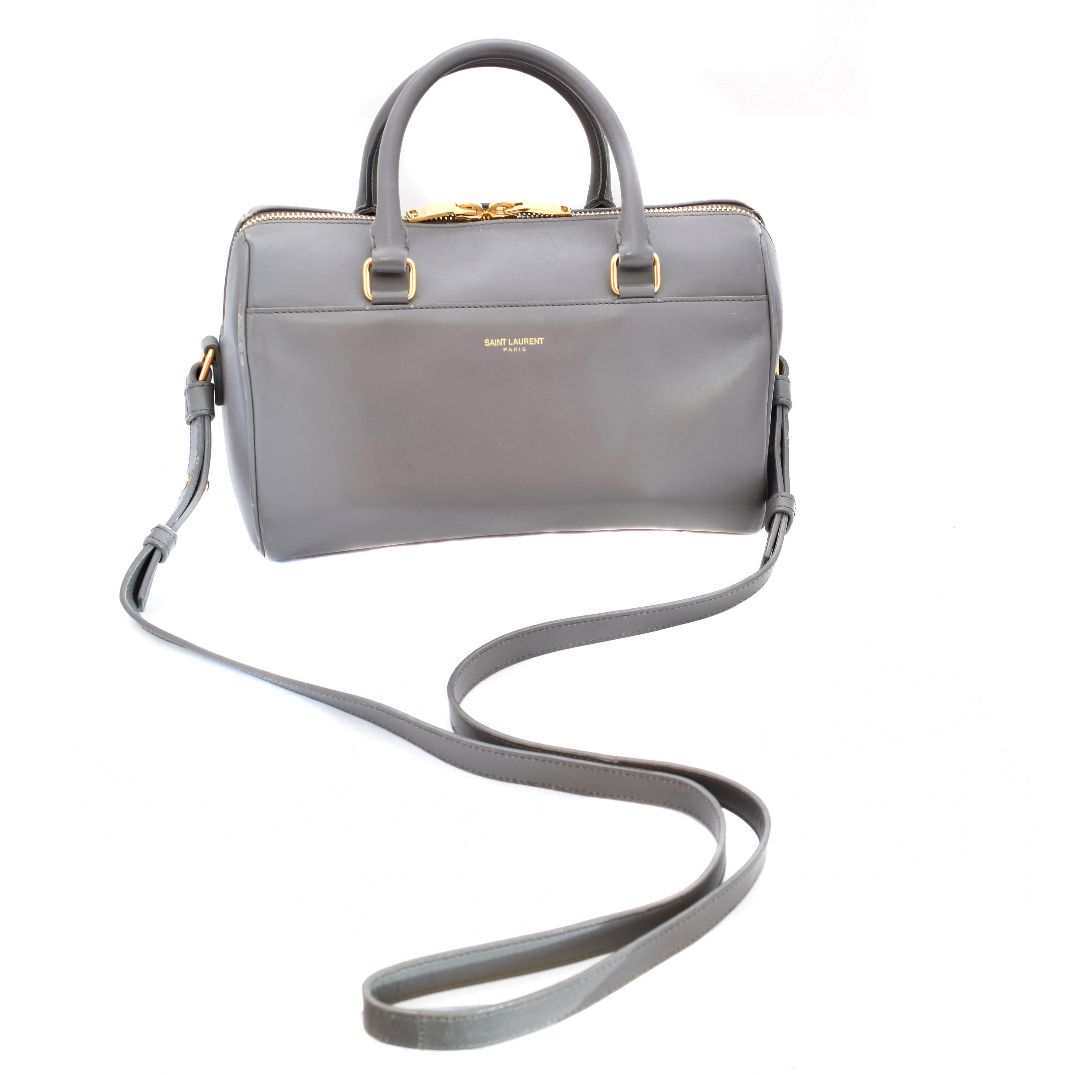 A Yves Saint Laurent Mini Bowling Bag,