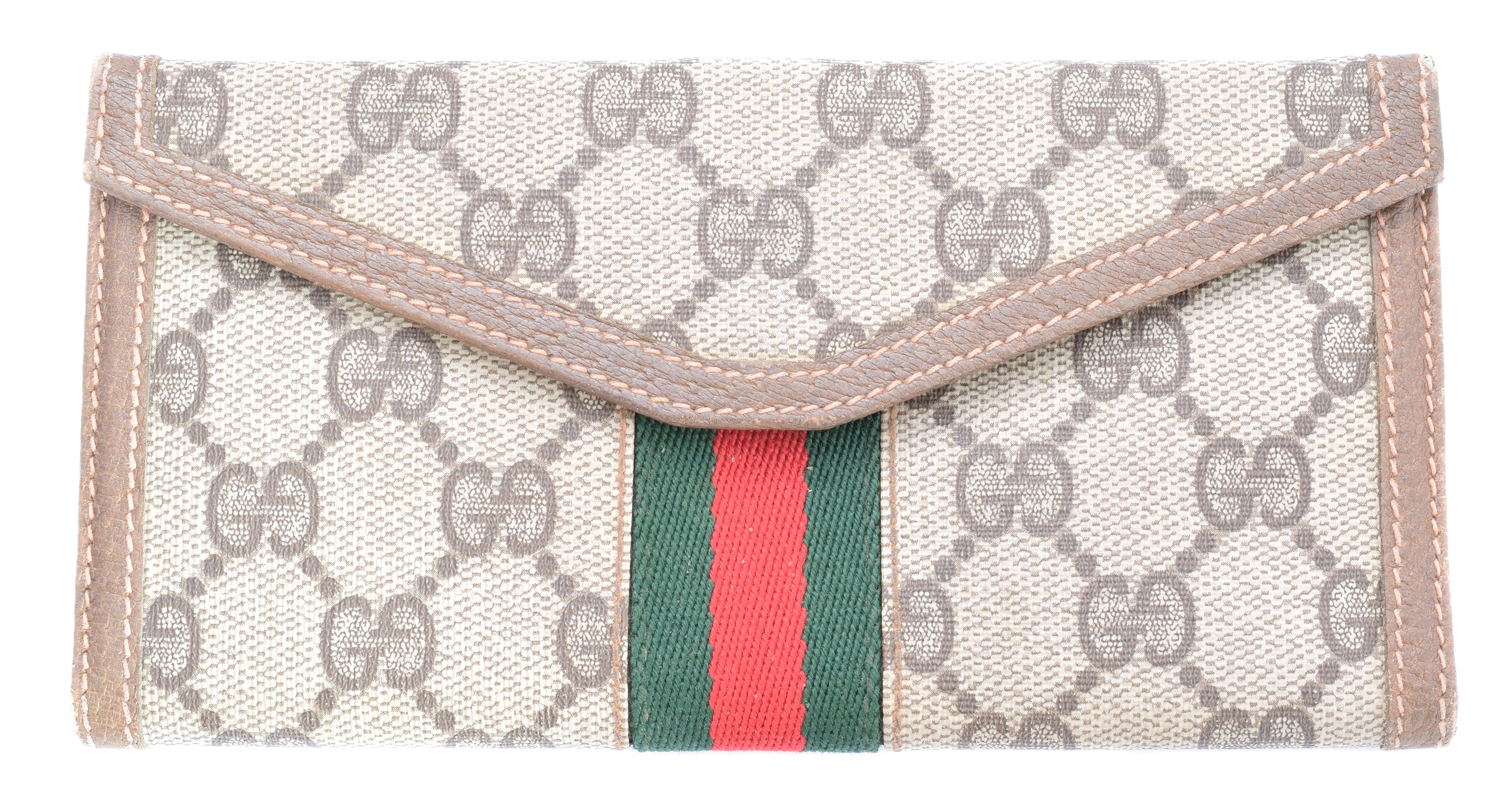A Gucci Web Line Wallet, - Image 2 of 2