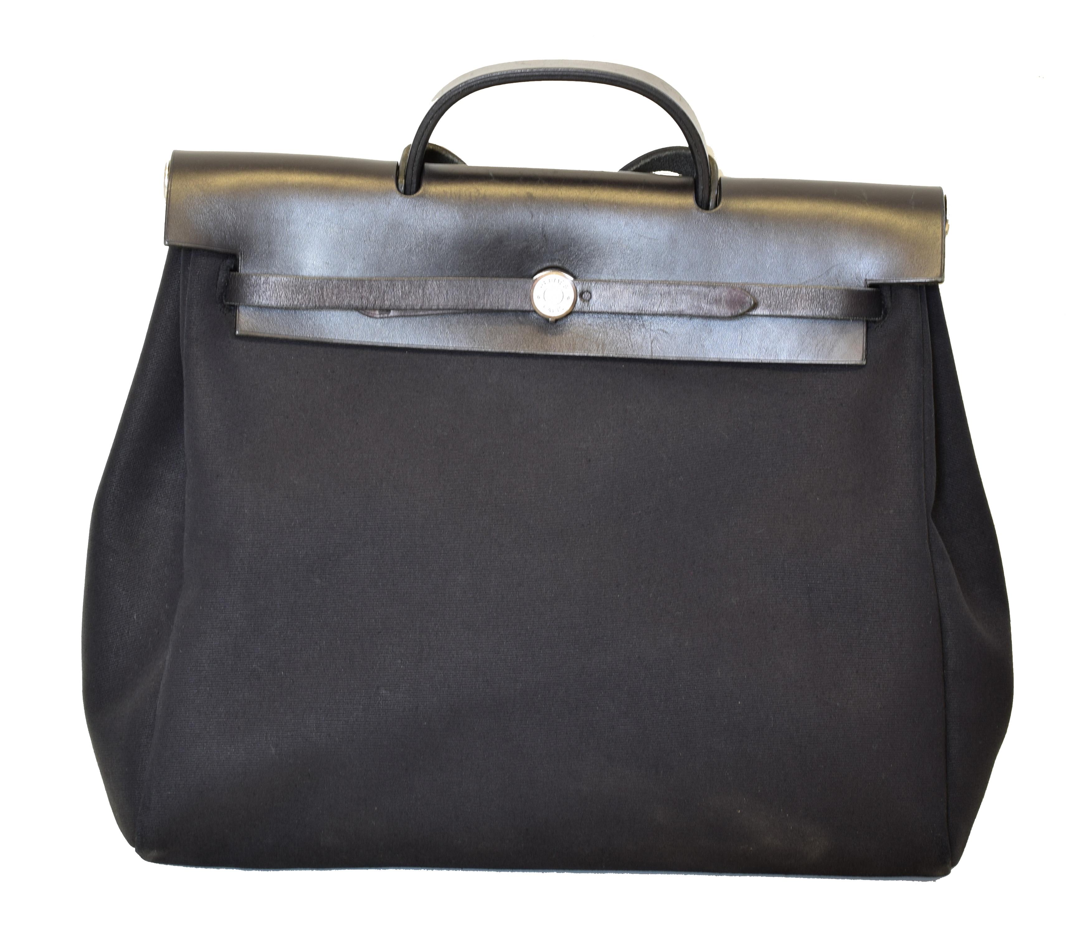 A Hermes 2-in-1 Herbag Cabas MM Handbag, - Image 2 of 2