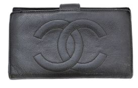 A Chanel Long Bifold Wallet,