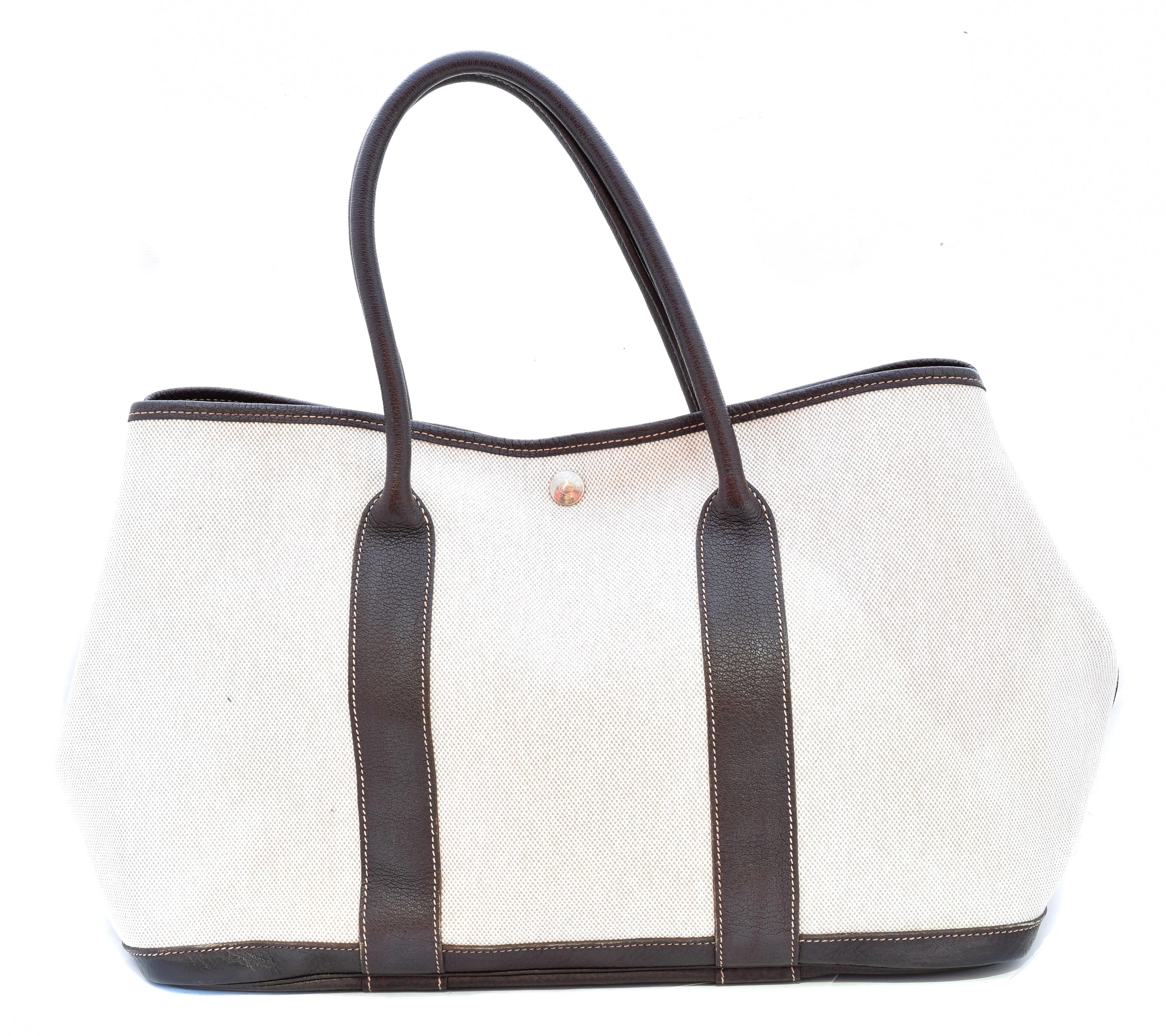 A Hermes Garden Party 35 bag,