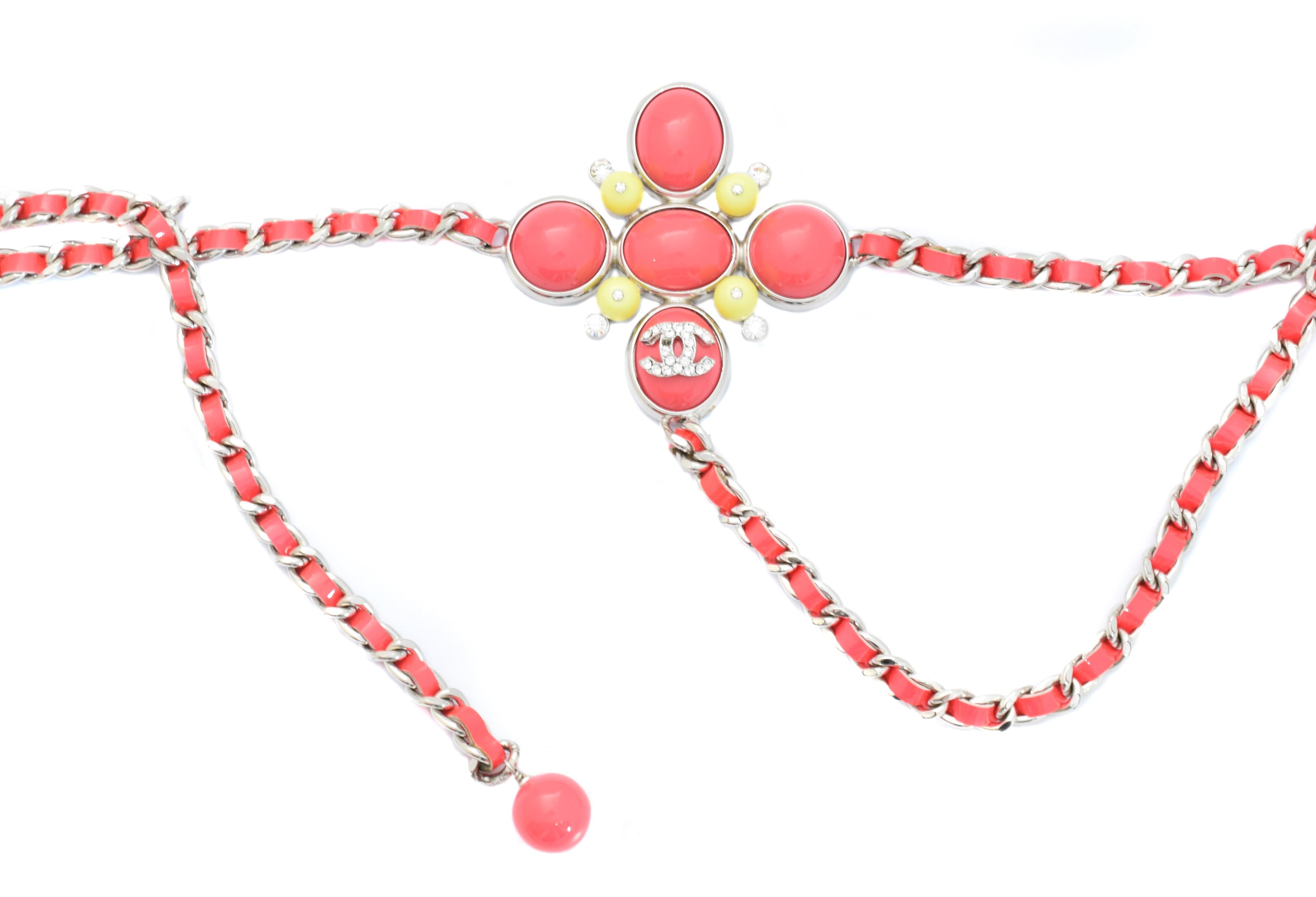 A Chanel belt,