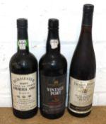 3 Bottles Mixed Lot Vintage Port and Late Harvest Australian Muscat