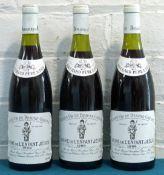 3 Bottles Mixed Lot Beaune-Greves Premier Cru 'Vigne de L'Enfant Jesus'