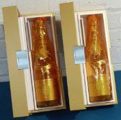 2 bottles Louis Roederer Cristal Vintage Champagne 2009