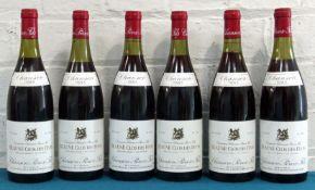 6 Bottles Mixed Lot Beaune Premier Cru Clos des Feves Chanson