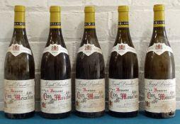 5 Bottles Beaune 'Clos des Mouches' Domaine Joseph Drouhin 2002