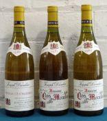 3 Bottles Mixed Lot Mature Fine White Burgundy from Joseph Drouhin