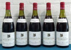 5 Bottles Mixed Lot Beaune-Bressandes Premier Cru Chanson