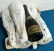 6 Bottles Krug Vintage Brut Champagne 1979