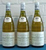 3 Bottles Chassagne-Montrachet Premier Cru 'Morgeot' Duc de Magenta Mise Louis Jadot
