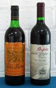 2 Bottles Mixed Lot Penfolds Bin 707 and Gran Reserva Rioja