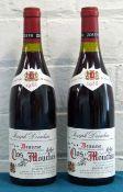 2 Bottles Beaune Premier Cru Clos des Mouches Domaine Joseph Drouhin
