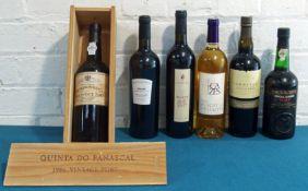 6 Bottles Mixed Lot Port and Exceptional Vins Doux Naturels