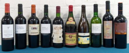 10 Bottles Mixed Lot of excellent Burgundy, Claret and Roussillon wines