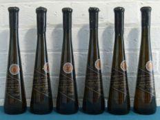 6 Bottles (50 cl.) Weingut Gries Rheinpfalz Edenkobener Schwarzer Letten Huxelrebe Auslese 1994
