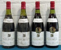 4 Bottles Mixed Lot Beaune Premier Cru Chanson