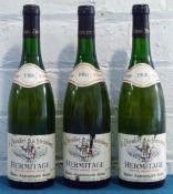 3 Bottles Hermitage Blanc 'Le Chevalier de Sterimberg' Paul Jaboulet Aine