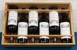 6 Bottles Chateau Loudenne Cru Bourgeois Medoc 1982