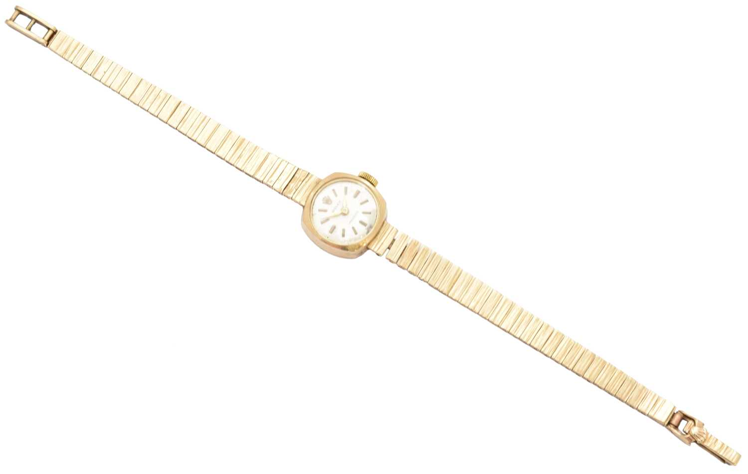 A 1960s 9ct gold ladies Rolex precision watch, - Image 2 of 2