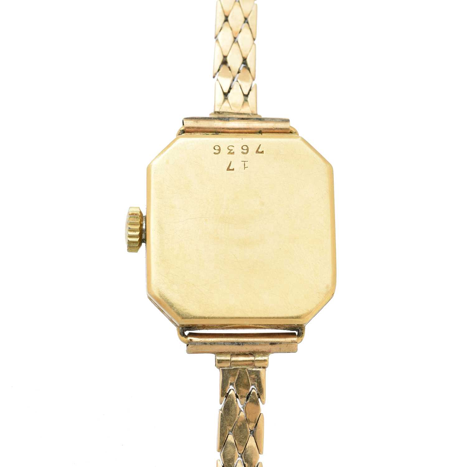 An early 20th century 18ct gold Rolex watch, - Image 2 of 5