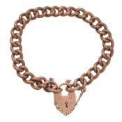 A chain bracelet,