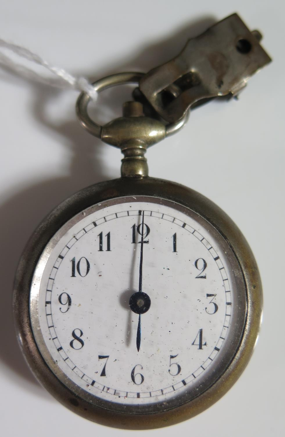 Lot 227 - A Pedometer by Henri Chatelain, back glass cracked