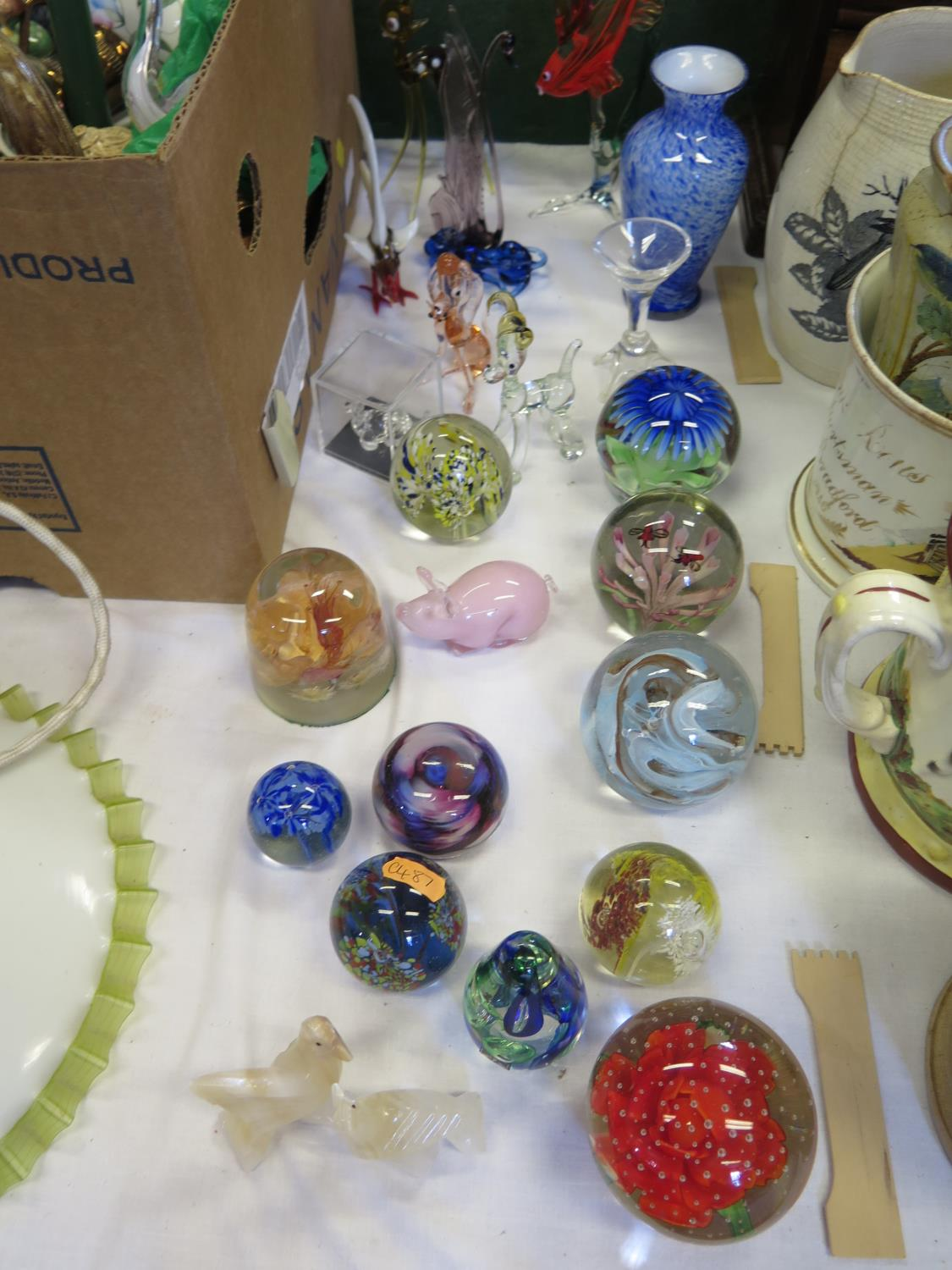 Lot 599 - A Selection of Glass Ornaments