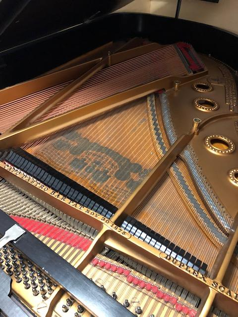 Lot 35 - Steinway (c1898) A 6ft 2in 88-note Model A grand piano in a rosewood case on square tapered legs.