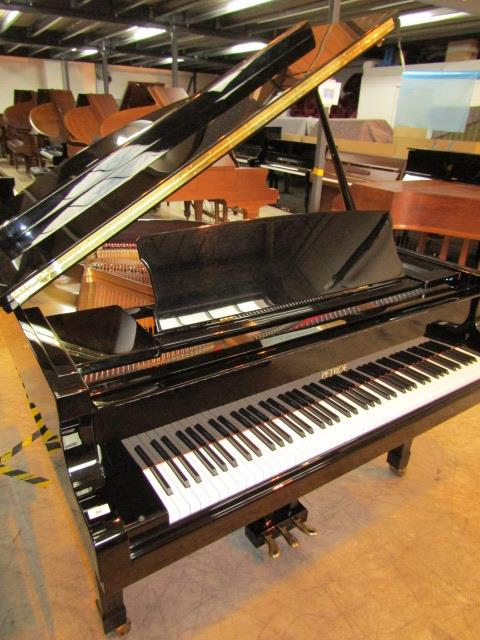 Lot 48 - Petrof (c2010) CHANGE OF PIANO A 5ft 3in Model P159 Bora grand piano in a bright ebonised case on