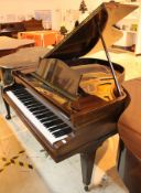 C Bechstein (c1934) A 5ft 1in Model K grand piano in a mahogany case on square tapered legs