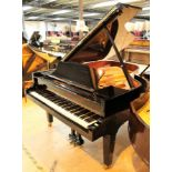 Grotrian Steinweg (c2011) A 6ft 3in Model 192 grand piano in a bright ebonised case on square